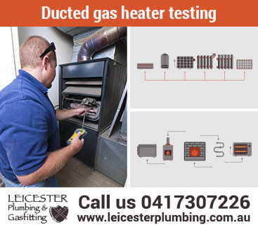 Ducted gas heater testing for Gippsland