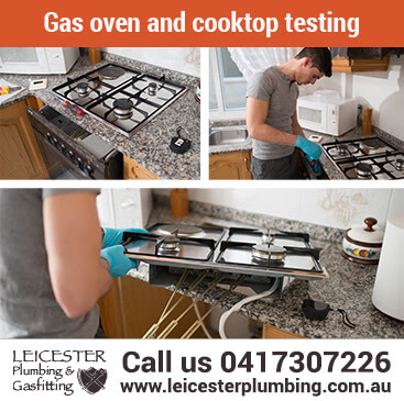 Gas oven and cooktop testing for Gippsland