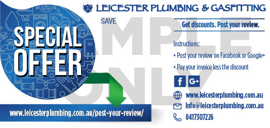Post your review for Leicester Plumbing & Gasfitting