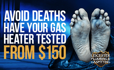 Gas heater testing services for Drouin, Warragul, Moe, Morwell and Traralgon